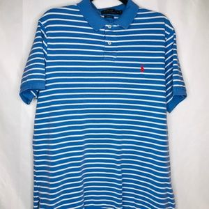 Polo Ralph Lauren Mens Golf Shirt Size XL Striped